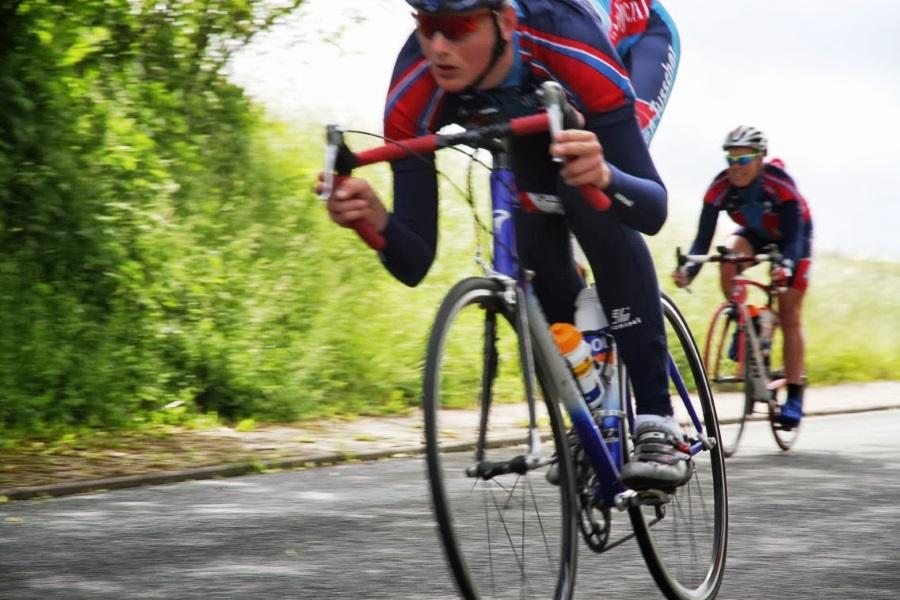 juiste zadelhoogte fiets